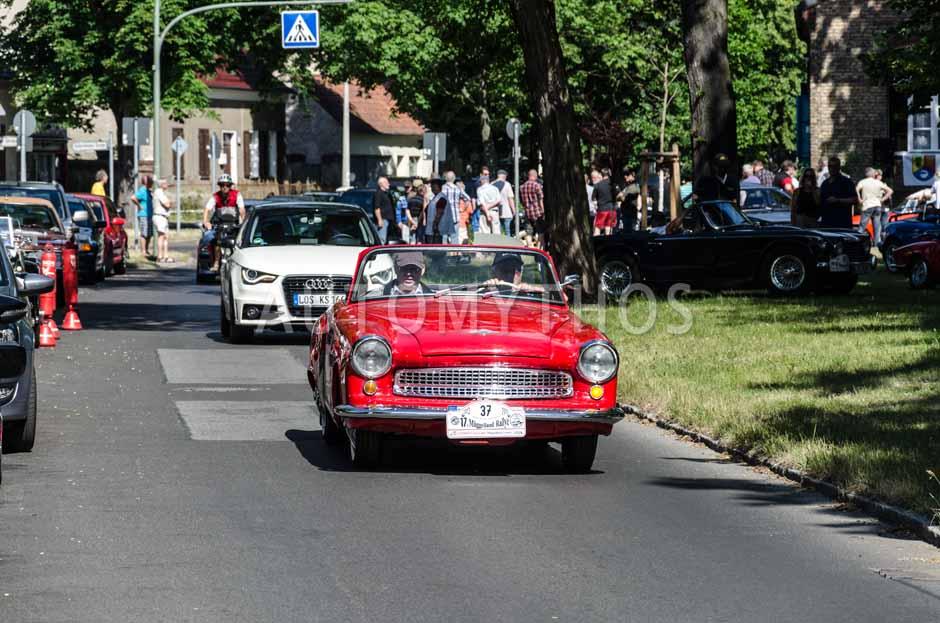 Automythos | 17. Müggelland Rallye 2013 | 37 | Eckhard Schmidt & Regina Schmidt | Wartburg 313/1 Sport