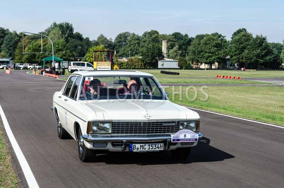 Automythos   10. VBA Classic Rallye 2013   8   Günter Schmidt & Rolf Janowski   Opel Admiral B