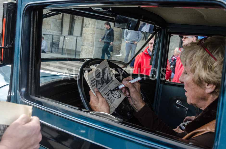 Automythos | 6. Hamburg Berlin Klassik Rallye 2013 | 1 | Heidi Hetzer & Reinhard Hainbach | Hudson Great Eight Coach
