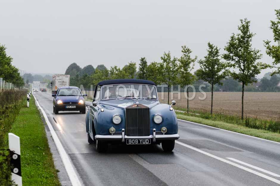 Automythos | 6. Hamburg Berlin Klassik Rallye 2013 | 17 | Dr. Philip Koehn & Dr. Hans Hamer | Rolls-Royce Silver Cloud Drophead Coupé
