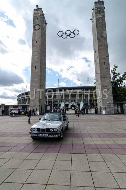 Automythos | 6. Hamburg Berlin Klassik Rallye 2013 | 175 | Johannes Bitzer & Susanne Bitzer | BMW 325e Baur TC E30 Cabriolet