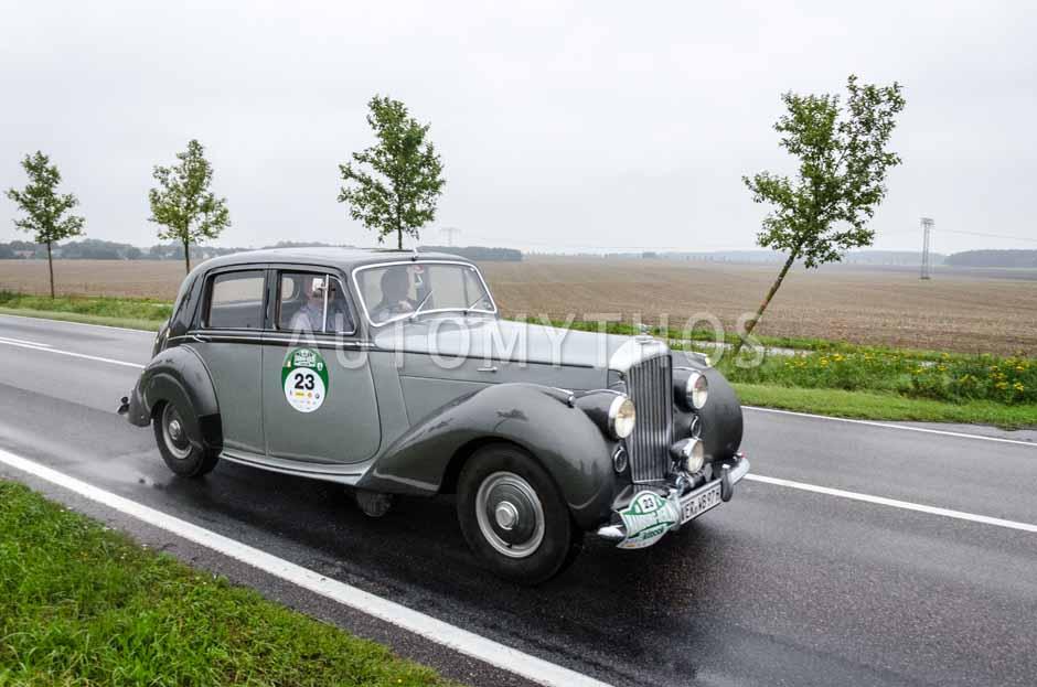 Automythos | 6. Hamburg Berlin Klassik Rallye 2013 | 23 | Wolfgang Bahlmann & Wolfgang Borutta | Bentley Mk VI