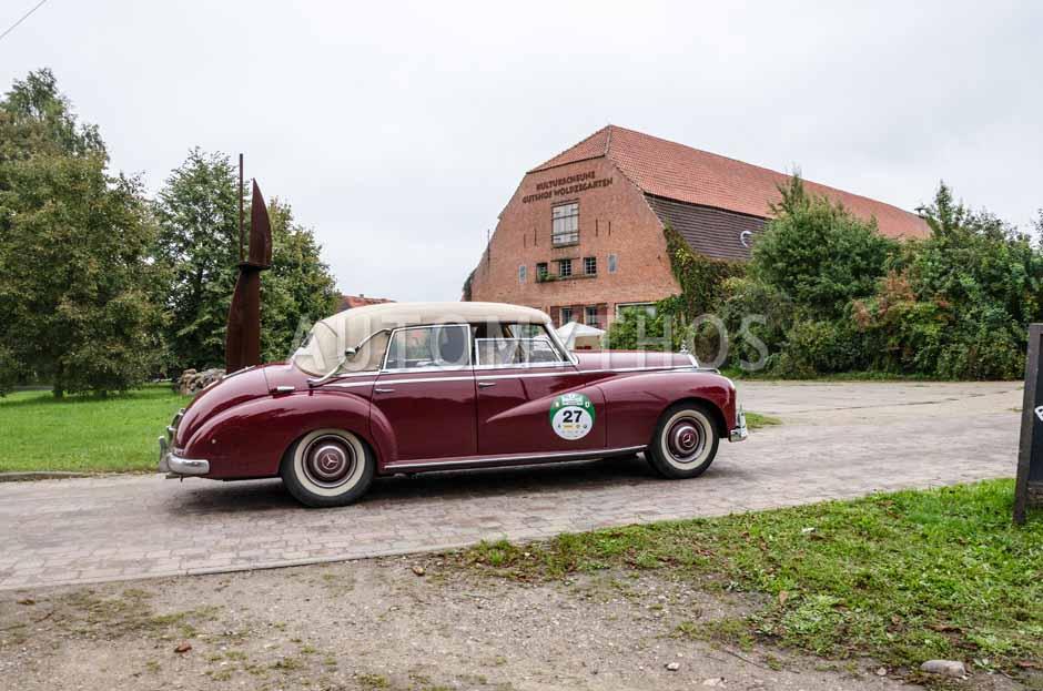Automythos | 6. Hamburg Berlin Klassik Rallye 2013 | 27 | Heinz Schatto & Petra Inderwisch | Mercedes-Benz W189 300 d Adenauer Cabriolet