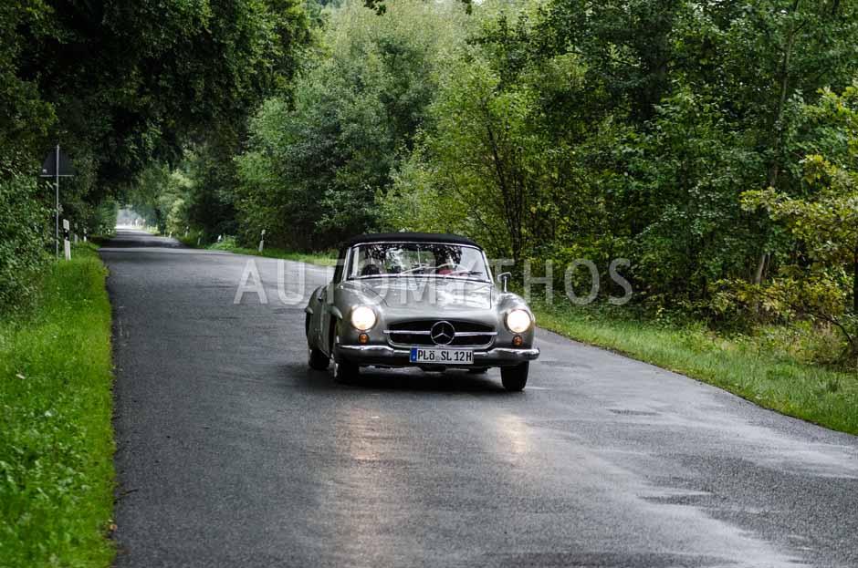 Automythos | 6. Hamburg Berlin Klassik Rallye 2013 | 5 | Norbert Szupryczynski & Brigitte Szupryczynski | Mercedes-Benz W121 BII 190 SL