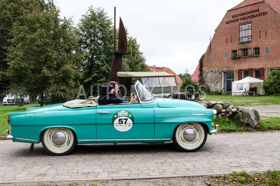 Automythos | 6. Hamburg Berlin Klassik Rallye 2013 | 57 | Stefan Voswinkel & Christian Bernd Abel | Skoda Felicia Cabriolet