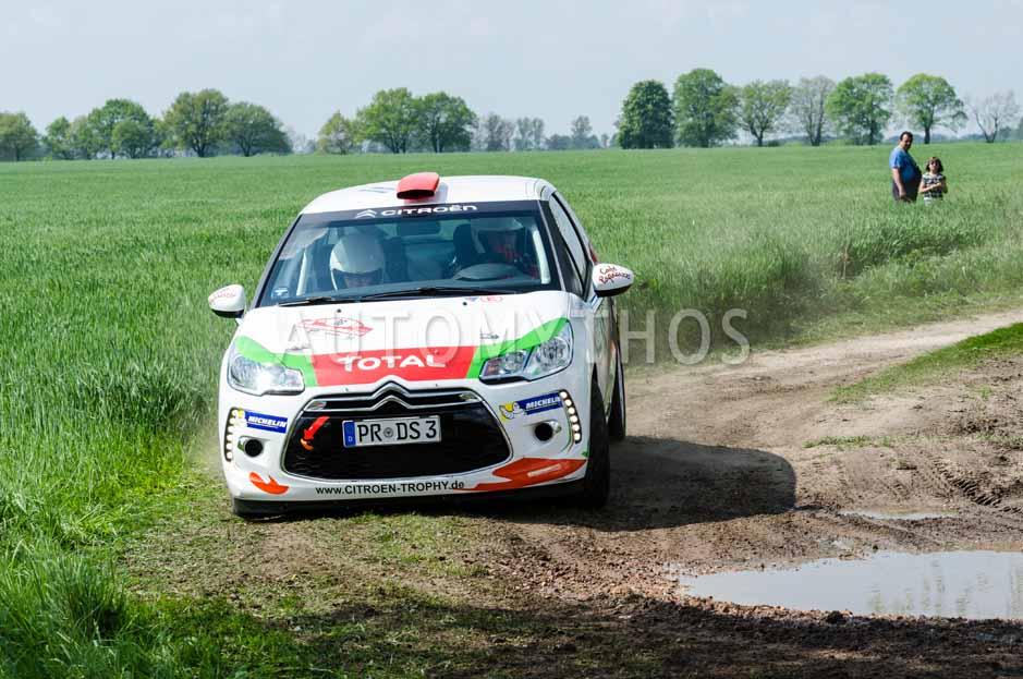 Automythos | 15. Fontane Rallye 2014 | 16 | Marco Bruß & Uwe Fritz | Citroën DS3