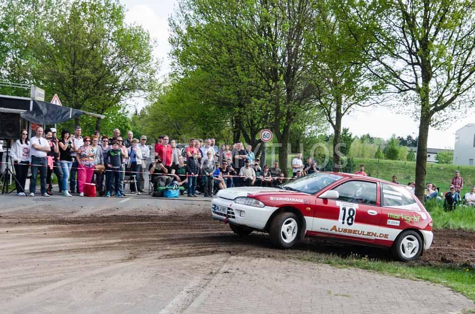 Automythos | 15. Fontane Rallye 2014 | 18 | Roland Lanzke & Torsten Fischer | Mitsubishi Colt