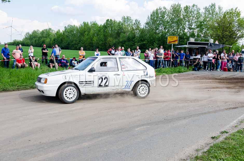 Automythos | 15. Fontane Rallye 2014 | 22 | Lars Meyer & Andreas Weißflog | Volkswagen Polo Typ 86C 2F