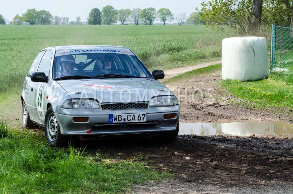 Automythos | 15. Fontane Rallye 2014 | 26 | Hendrik Gronau & Marco Simon | Suzuki Swift GTI