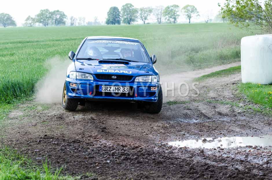 Automythos | 15. Fontane Rallye 2014 | 55 | René Möller & Philipp Hutzler | Subaru Impreza