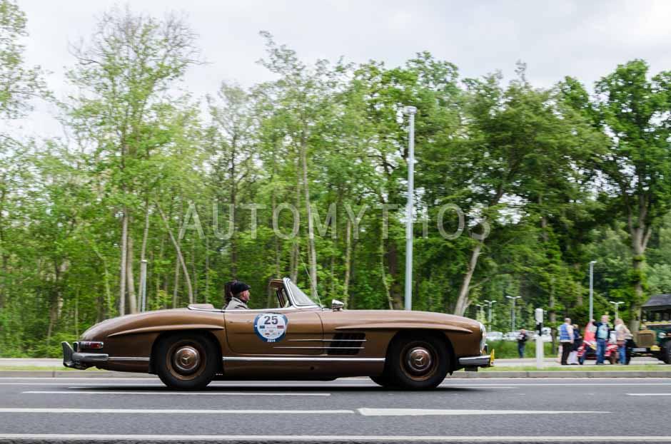 Automythos | 13. Rügen Classics 2014 | 25 | Hendrik Horstmann & Wolfgang Schreiber | Mercedes-Benz W198 II 300 SL Roadster