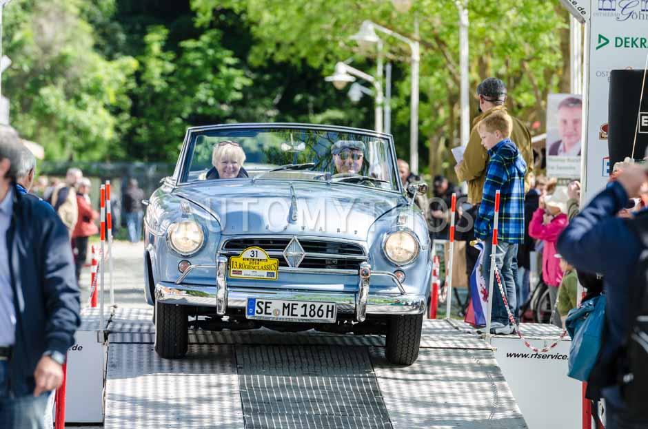 Automythos | 13. Rügen Classics 2014 | 31 | Manfred Geiselhart & Elfi Geiselhart | Borgward Isabella TS