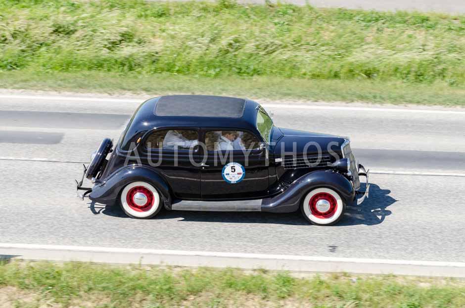 Automythos | 13. Rügen Classics 2014 | 5 | Matthieu Friedemann & Bernd Budi | Ford V8 Model 48