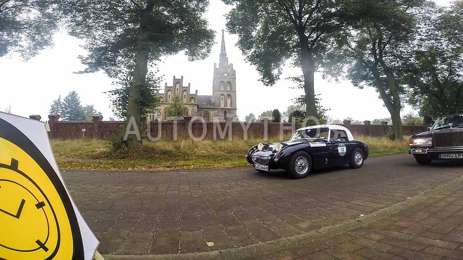 Automythos | 12. VBA Classic Rallye 2014 | 13 | Dr. Bernd-Rainer Zabre & Raffael Zabre | Austin-Healey Sprite MK 1 Frogeye