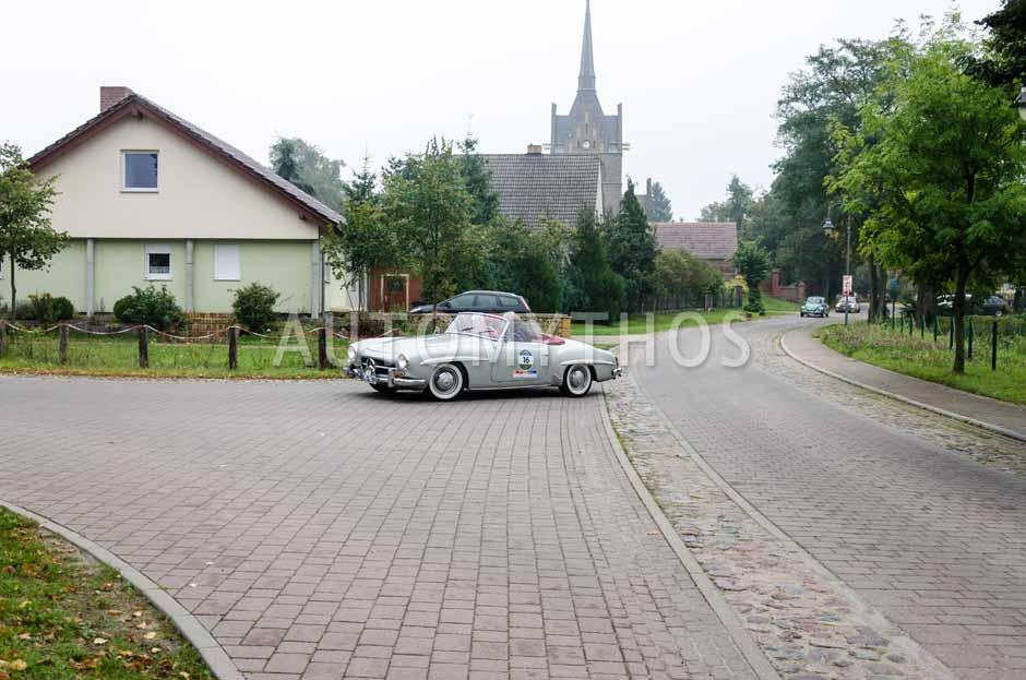 Automythos | 12. VBA Classic Rallye 2014 | 16 | Harald Kromski & Cornelia Kromski | Mercedes-Benz W121 BII 190 SL