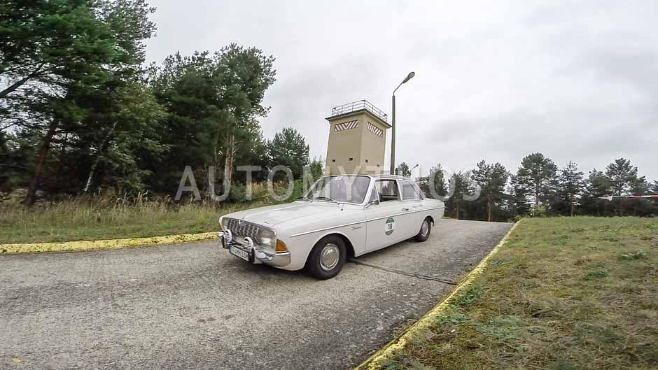 Automythos   12. VBA Classic Rallye 2014   18   Maik Podas & Michael Wagner   Ford Taunus P5 20M