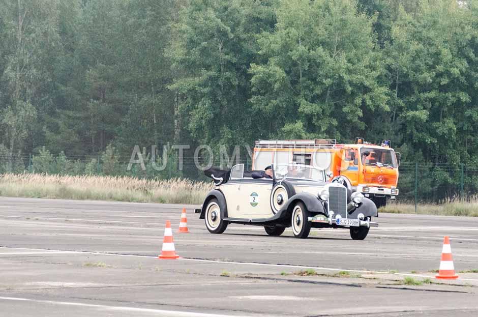 Automythos | 12. VBA Classic Rallye 2014 | 2 | Gerd Dressel & Rudolf Dressel | Mercedes Benz W143 230 Cabriolet B