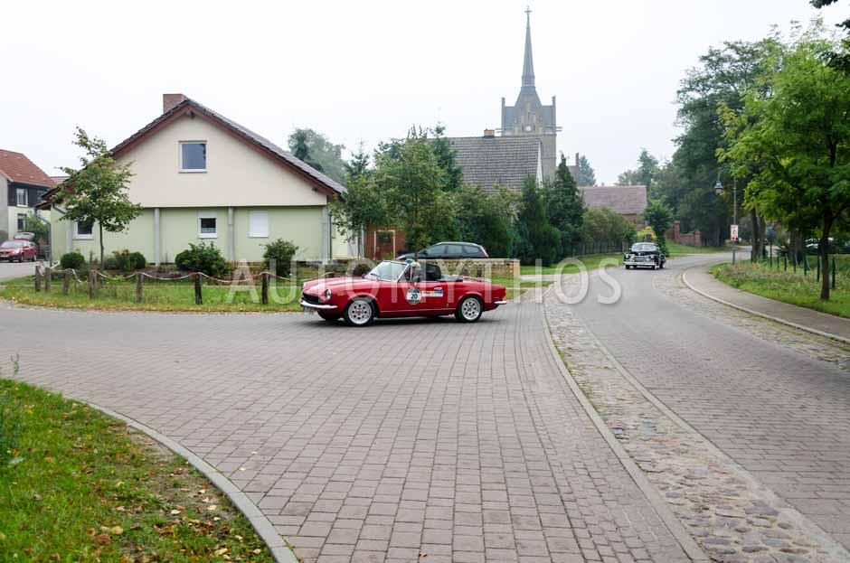 Automythos   12. VBA Classic Rallye 2014   20   Axel Roewer & Bernd Stube   Fiat 124 Spider