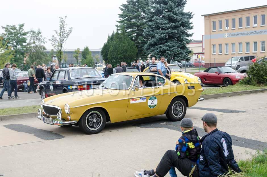 Automythos | 12. VBA Classic Rallye 2014 | 21 | Alexander Spieß & Jana Spieß | Volvo P1800 Coupé