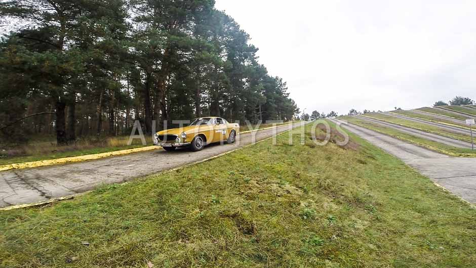 Automythos   12. VBA Classic Rallye 2014   21   Alexander Spieß & Jana Spieß   Volvo P1800 Coupé