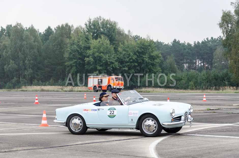 Automythos | 12. VBA Classic Rallye 2014 | 22 | Roland Wiemann & Peter Katsarski | Alfa Romeo Giulietta Spider
