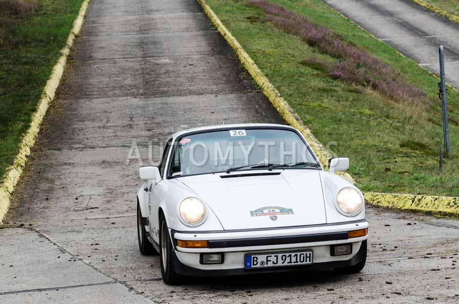 Automythos | 12. VBA Classic Rallye 2014 | 26 | Frank Jungnickel & Britta Seehafer | Mini Cooper/Innocenti & Porsche 911 SC 3.0