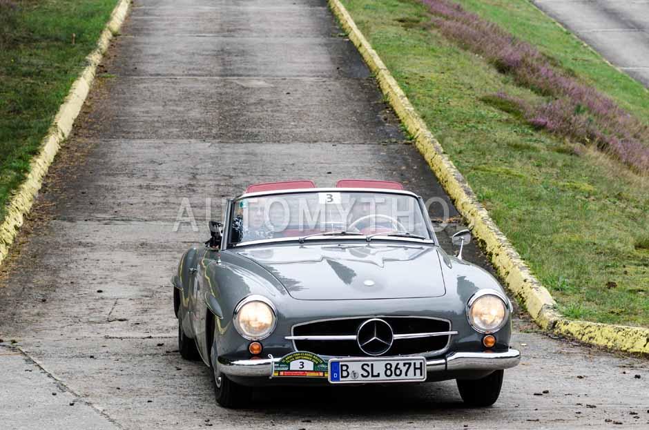 Automythos | 12. VBA Classic Rallye 2014 | 3 | Marcel Grothe & Tamara Grothe | Mercedes-Benz W121 BII 190 SL