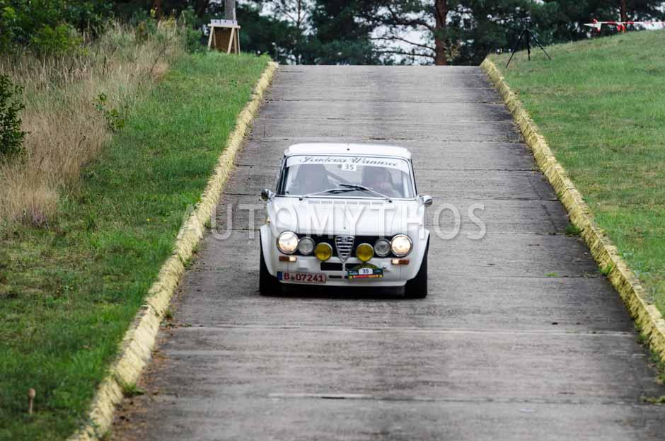 Automythos   12. VBA Classic Rallye 2014   35   Max Stieren & Leonie Stieren   Alfa Romeo Giulia Super
