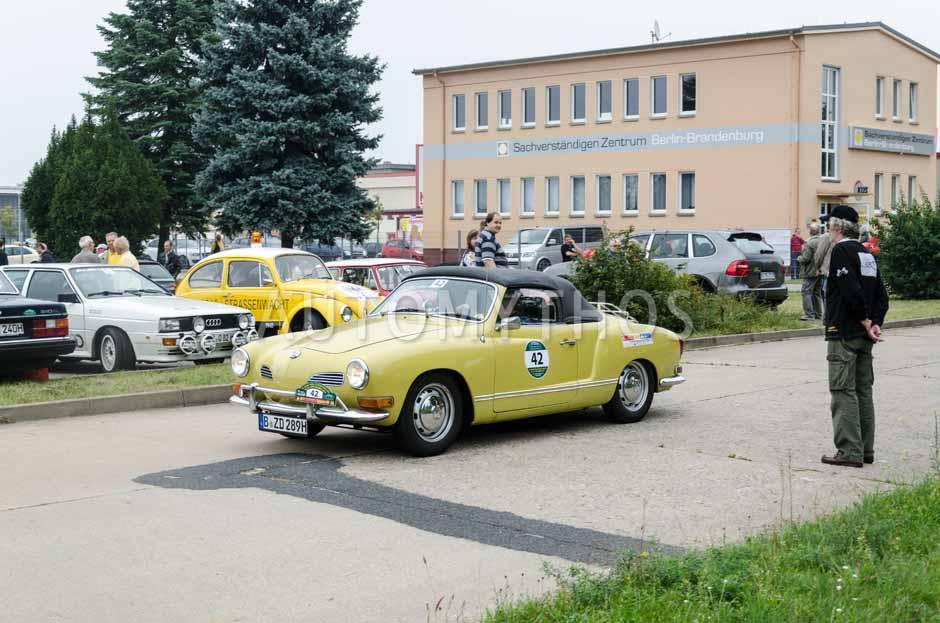 Automythos | 12. VBA Classic Rallye 2014 | 42 | Jürgen Blunck & Dagmar Ziegler | Volkswagen Karmann Ghia Typ 14
