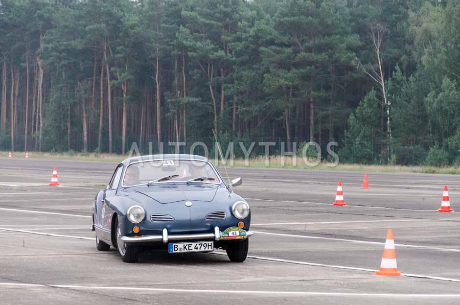 Automythos   12. VBA Classic Rallye 2014   43   Karsten Eitner & Reinhard Eitner   Volkswagen Karmann Ghia Typ 14