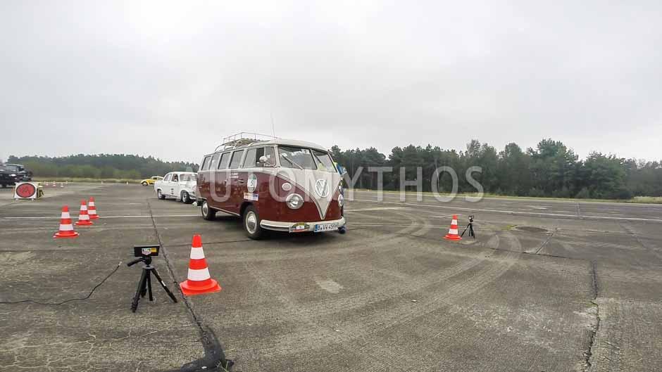 Automythos   12. VBA Classic Rallye 2014   5   Gabriele Lemke   Volkswagen T1 Samba Bus