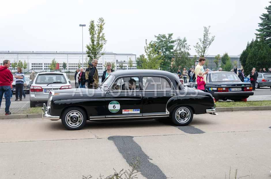 Automythos | 12. VBA Classic Rallye 2014 | 6 | Norbert Genghammer & Dominic und Heike | Mercedes-Benz W180 220 S