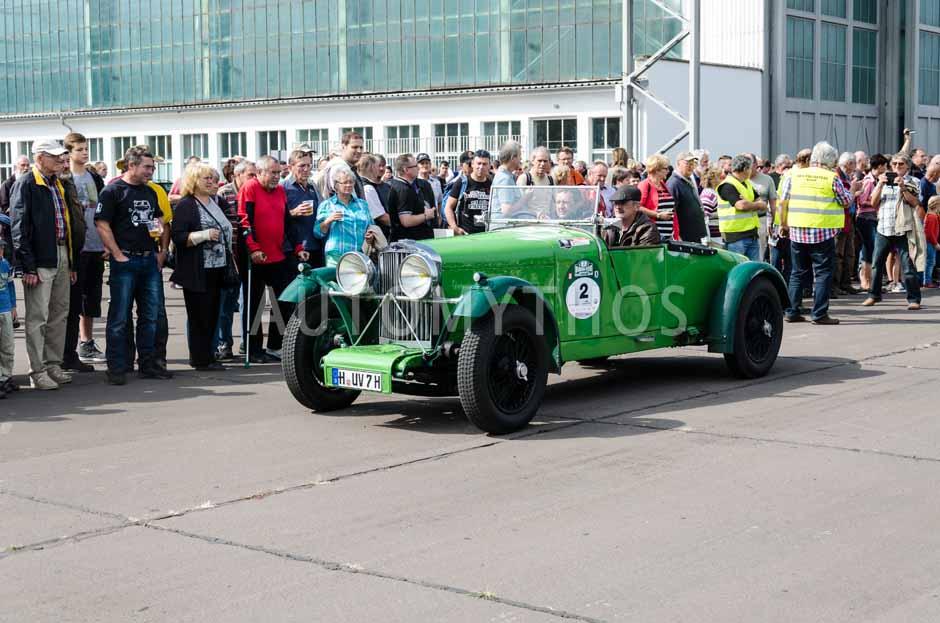 Automythos | 7. Hamburg Berlin Klassik 2014 | 2 | Ralf Klaus & Hans Georg Ahrens | Talbot AV 90 Open Tourer