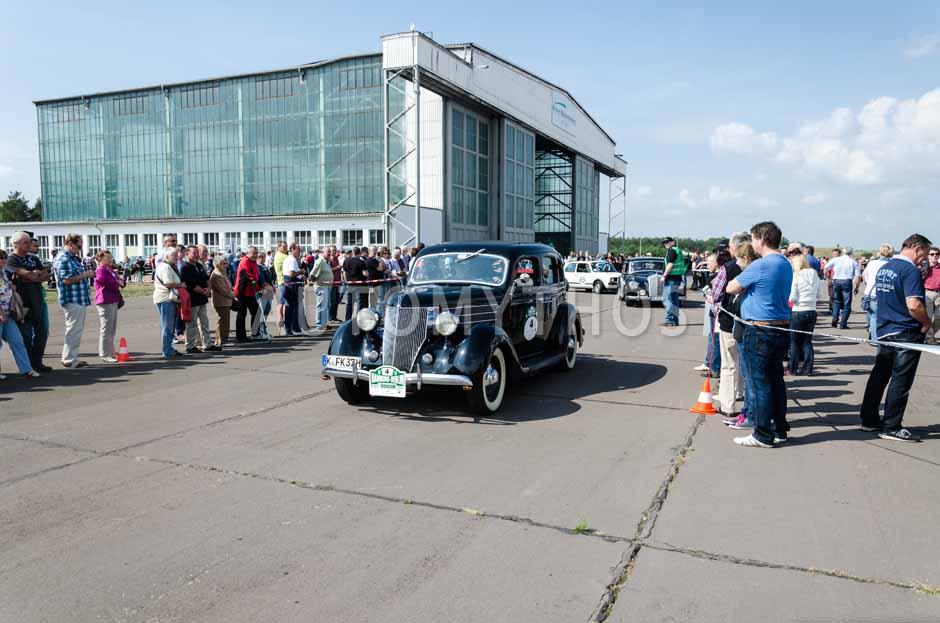 Automythos | 7. Hamburg Berlin Klassik 2014 | 4 | Hartwig Petersen & Burkhart Knopke | Ford V8