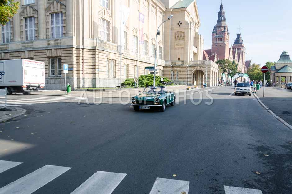 Automythos | 7. Hamburg Berlin Klassik 2014 | 7 | Marius Brune & Martin Stromberg | Fiat 124 BS Spider