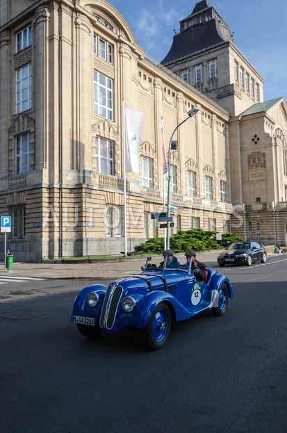 Automythos   7. Hamburg Berlin Klassik 2014   12   Dr. Hans H. Hamer & Boris Rogosch   BMW 328