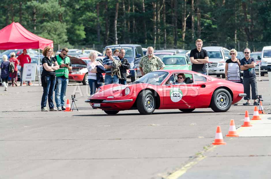 Automythos | 7. Hamburg Berlin Klassik 2014 | 125 | Oliver Schimpf & Inga Schroeder | Ferrari Dino 246 GT