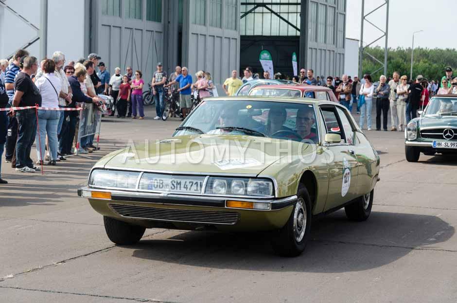 Automythos | 7. Hamburg Berlin Klassik 2014 | 127 | Manfred Postert & Hartmut Baade | Citroën SM