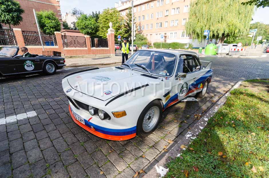 Automythos | 7. Hamburg Berlin Klassik 2014 | 130 | Wolfgang Brechner & Elisabeth Stadelbauer-Brechner | BMW E9 3.0 CSL