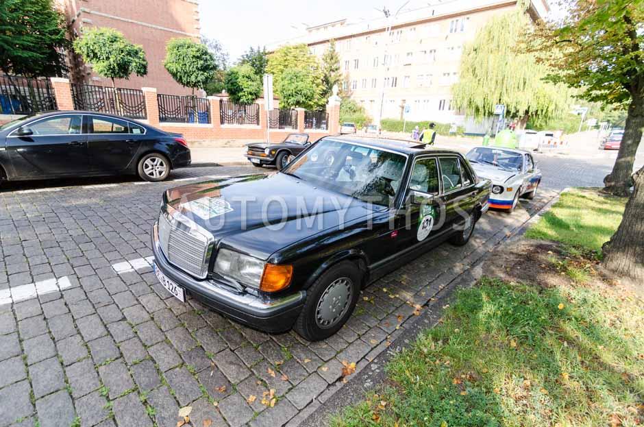 Automythos | 7. Hamburg Berlin Klassik 2014 | 131 | Volkmar Kruspig & Rita Kruspig | Mercedes-Benz W116 560 SEL