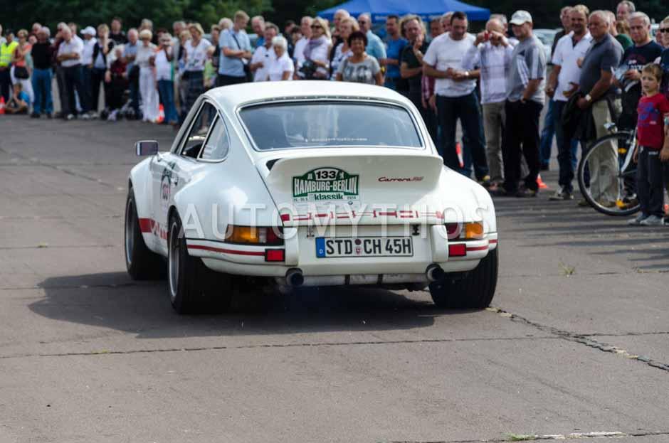 Automythos | 7. Hamburg Berlin Klassik 2014 | 133 | Claus Heinrich & Jürgen Klensang | Porsche 911 RSR