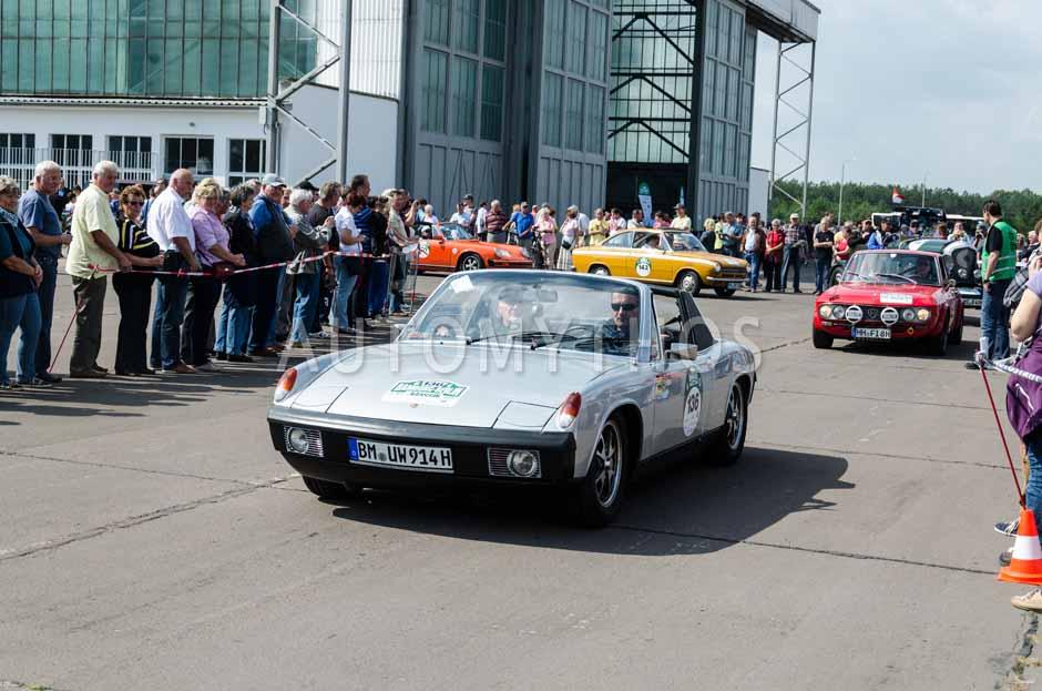 Automythos | 7. Hamburg Berlin Klassik 2014 | 136 | Dr. Urban Wefers & Arthur Oster | Volkswagen-Porsche 914/4