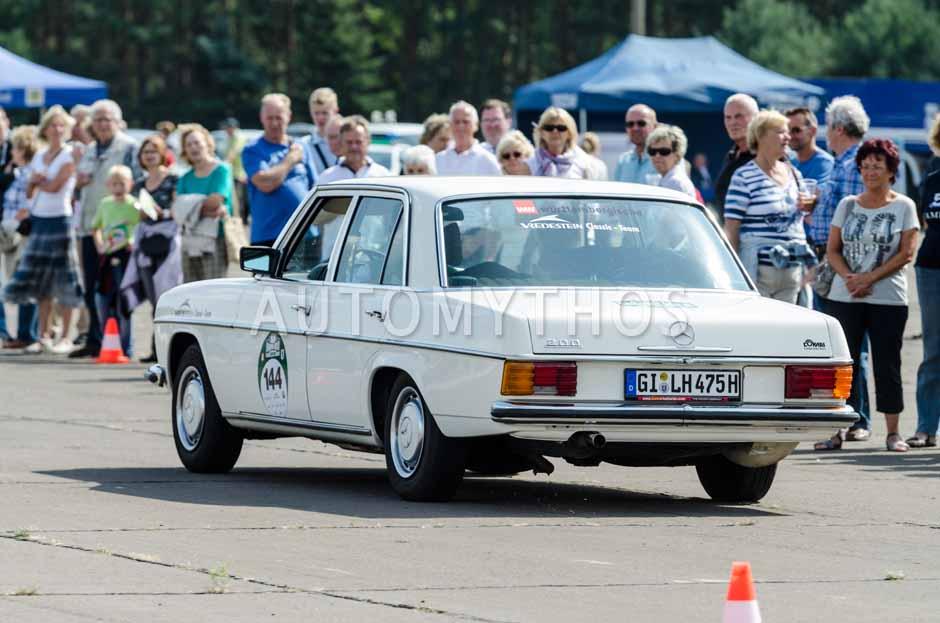 Automythos | 7. Hamburg Berlin Klassik 2014 | 144 | Marc Philippzik & Torge Eßer | Mercedes-Benz W115 /8 200