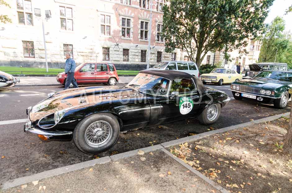 Automythos   7. Hamburg Berlin Klassik 2014   145   Kai Eckert & Kirsten Harnisch-Eckert   Jaguar E-Type S3