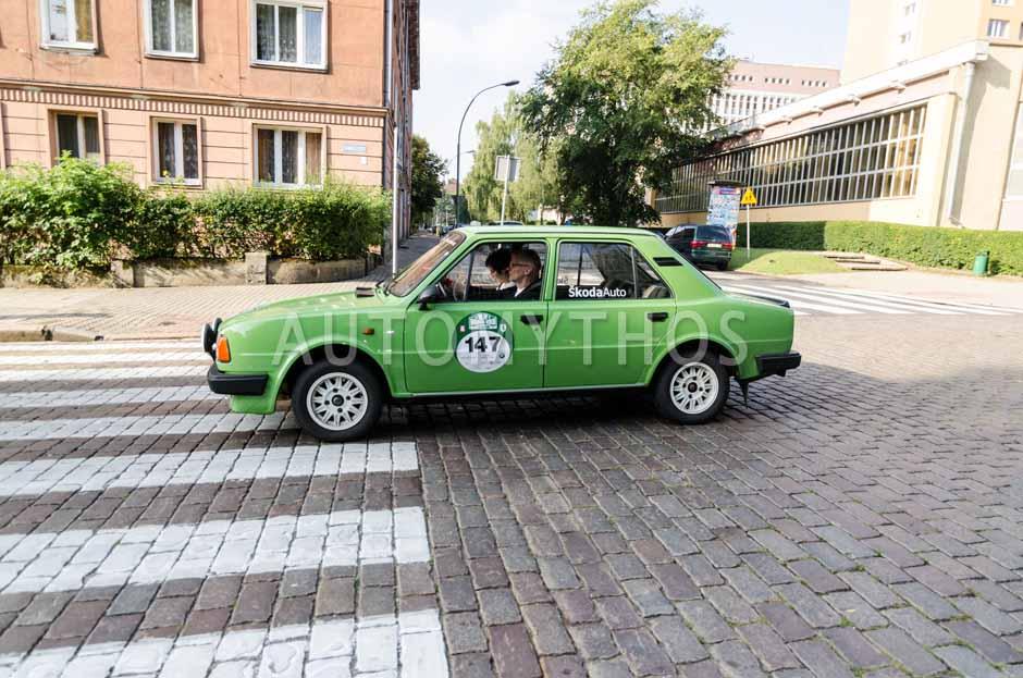 Automythos | 7. Hamburg Berlin Klassik 2014 | 147 | Gunnar Steinbach & Melanie Wensing | Skoda 120 L