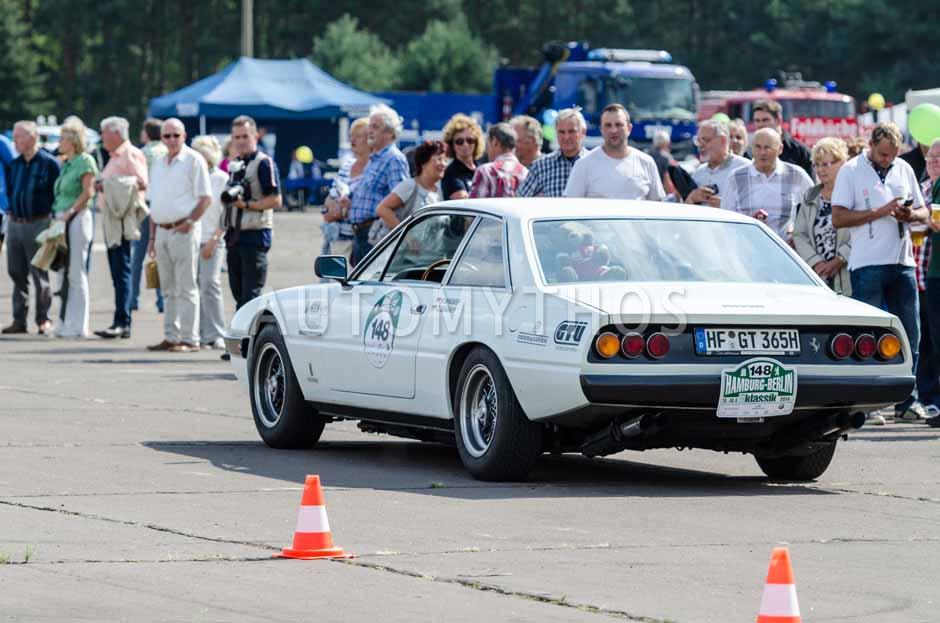 Automythos | 7. Hamburg Berlin Klassik 2014 | 148 | Bastian Brouwer & Johann Brouwer | Ferrari 365 GT4 2+2