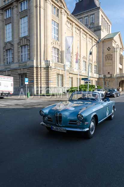 Automythos | 7. Hamburg Berlin Klassik 2014 | 15 | Lili Reisenbichler & Herbert Brockel | BMW 503 Cabriolet