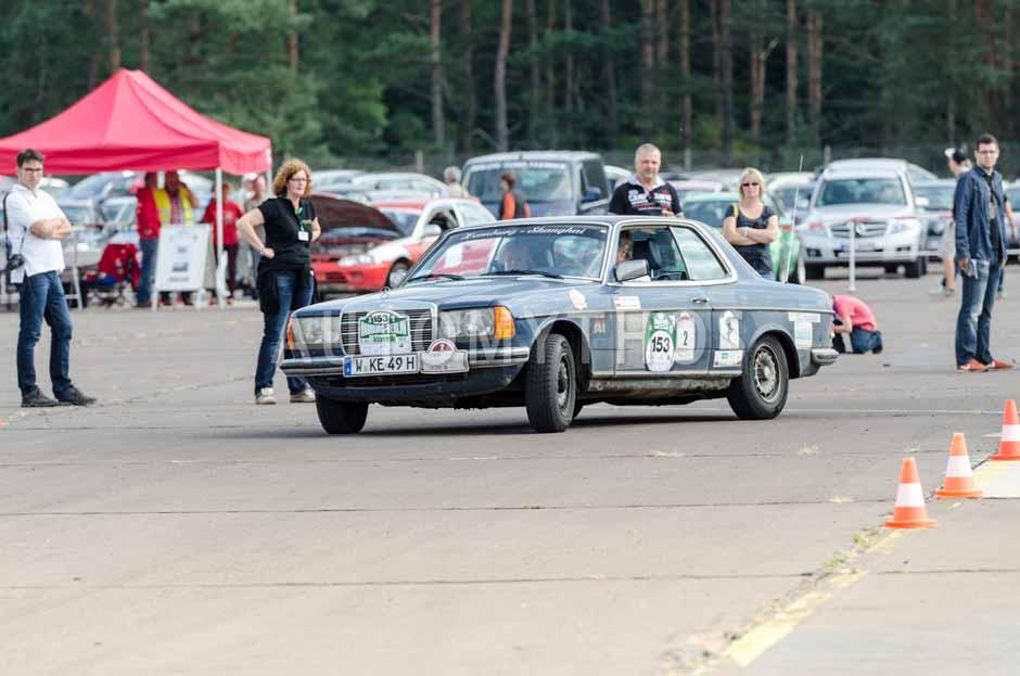 Automythos | 7. Hamburg Berlin Klassik 2014 | 153 | Klaus Endemann & Gabriela Endemann | Mercedes-Benz C123 280 CE