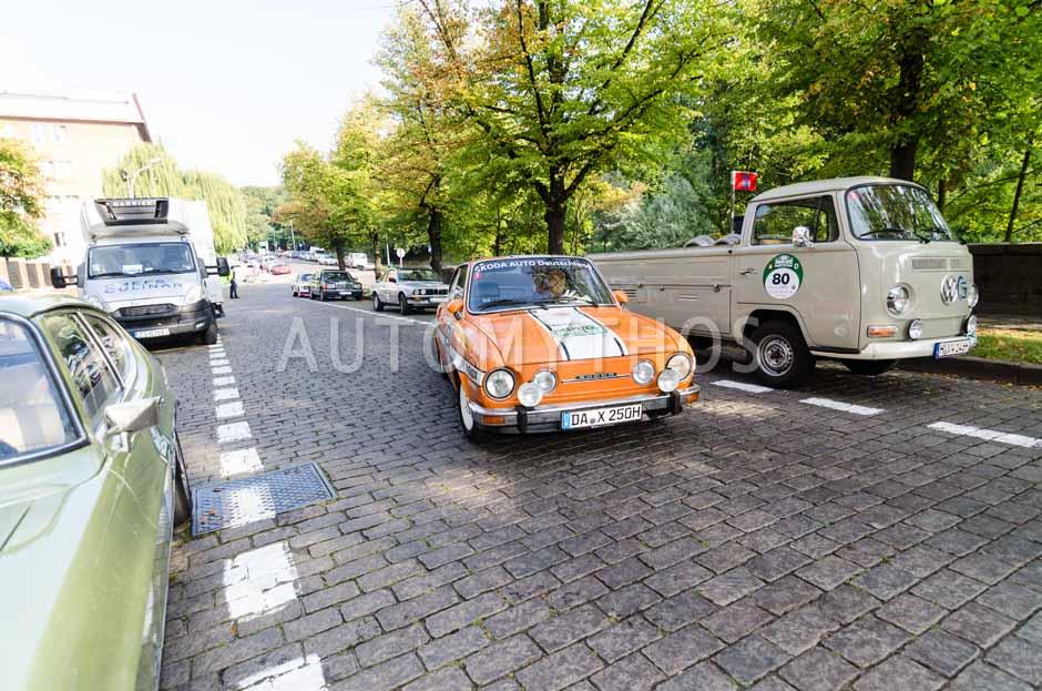 Automythos | 7. Hamburg Berlin Klassik 2014 | 157 | Willy Matzke & Thomas Stockmayer | Skoda 110 R
