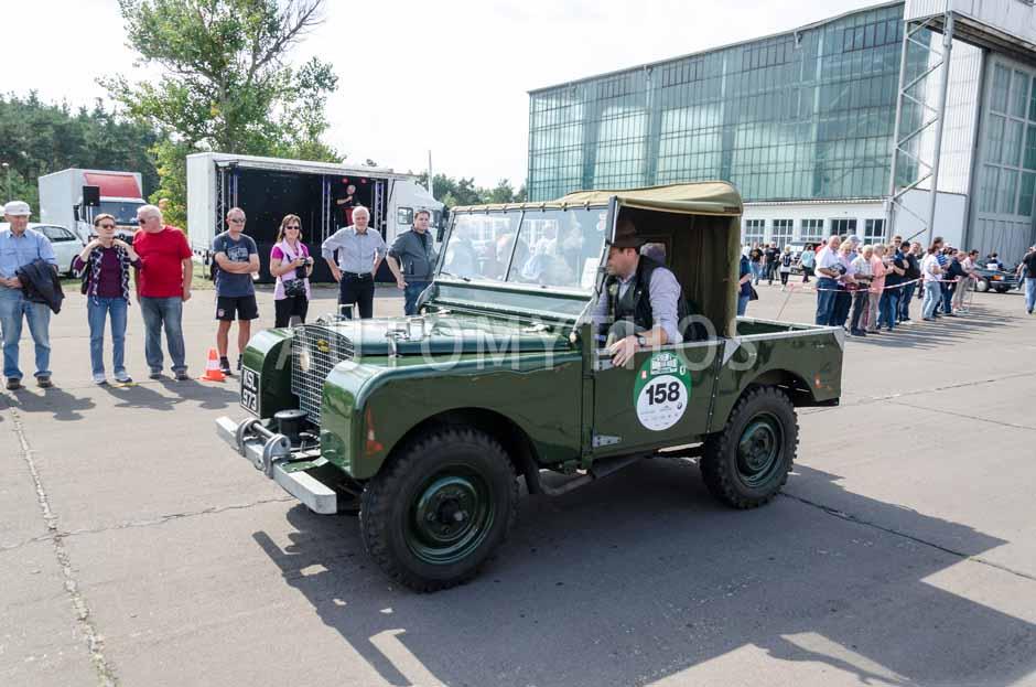 Automythos | 7. Hamburg Berlin Klassik 2014 | 158 | Dag Rogge & Mathias Paulokat | Land Rover Serie 1